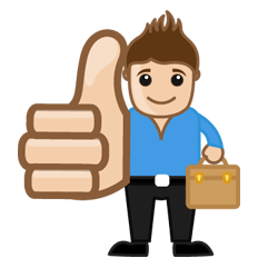 thumbs-up-leaflet-distribution